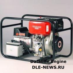 Дизельные генераторы малой мощности Yammar