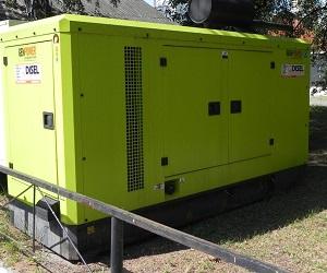 Дизельные генераторы в кожухе